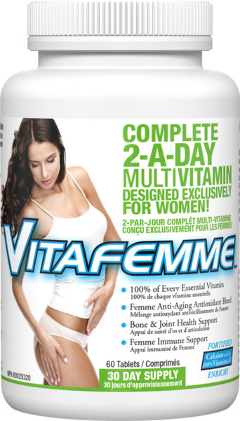 VitaFemme 2 A Day - 60 таблетки